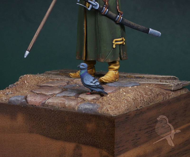 Dioramas and Vignettes: Two buddies, photo #10