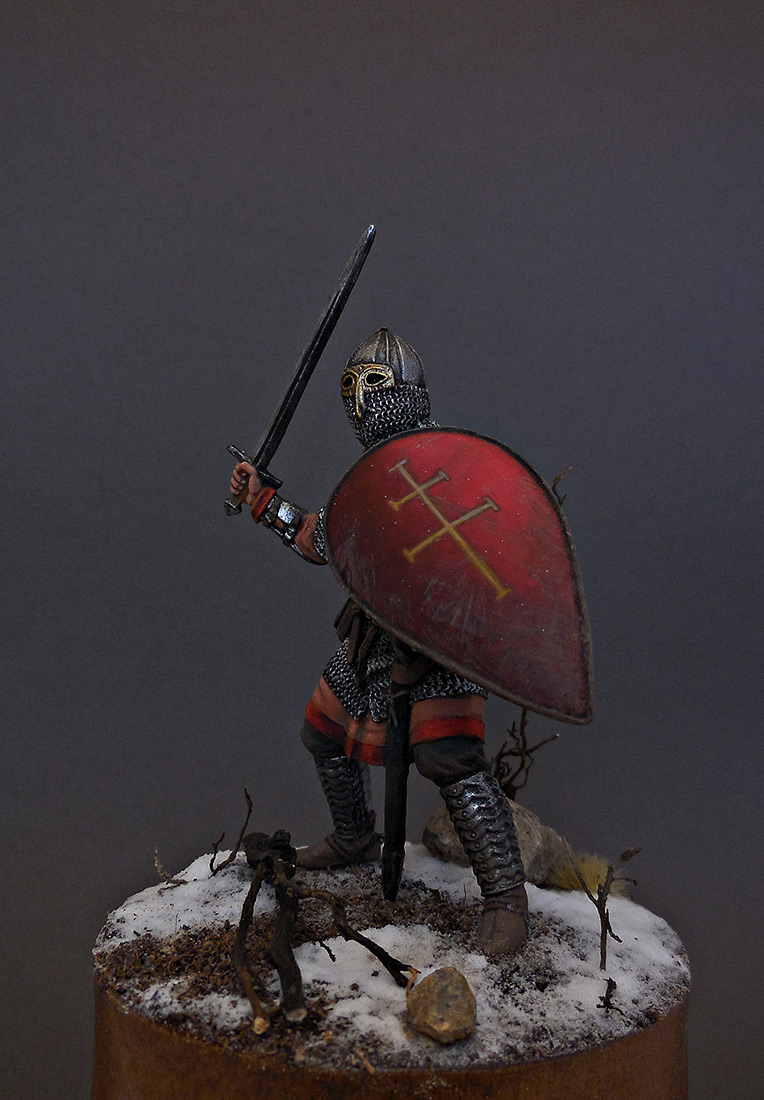 Figures: Russian warrior, 13th cent., photo #1