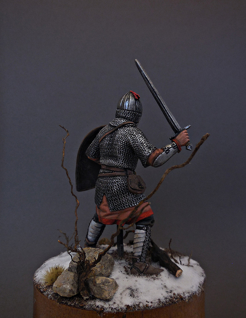 Figures: Russian warrior, 13th cent., photo #3