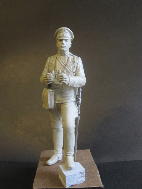 Sculpture: Officer of horse artillery, 1914, photo #1