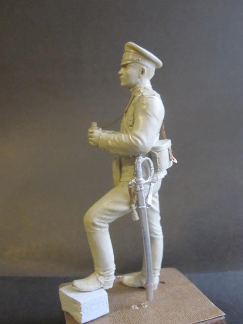 Sculpture: Officer of horse artillery, 1914, photo #2