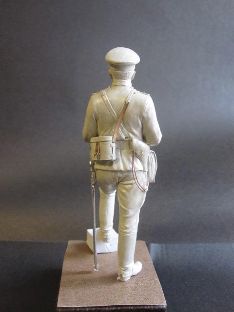 Sculpture: Officer of horse artillery, 1914, photo #3