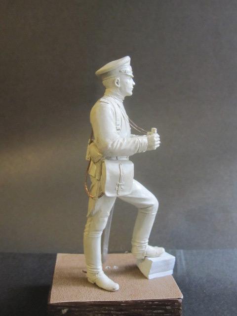 Sculpture: Officer of horse artillery, 1914, photo #5