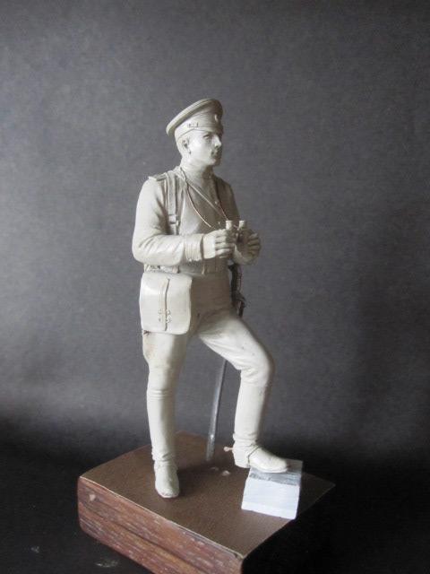 Sculpture: Officer of horse artillery, 1914, photo #6
