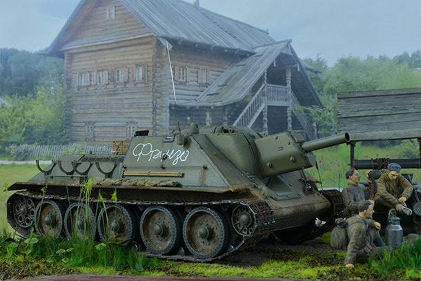 Dioramas and Vignettes: SU-122
