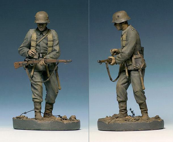 Figures: German Assault Trooper, 1917
