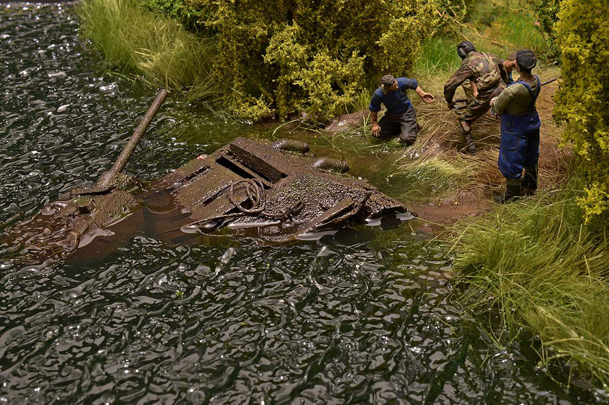 Dioramas and Vignettes: T-34/76 STZ. Rebirth of the Hero. Part II, photo #37