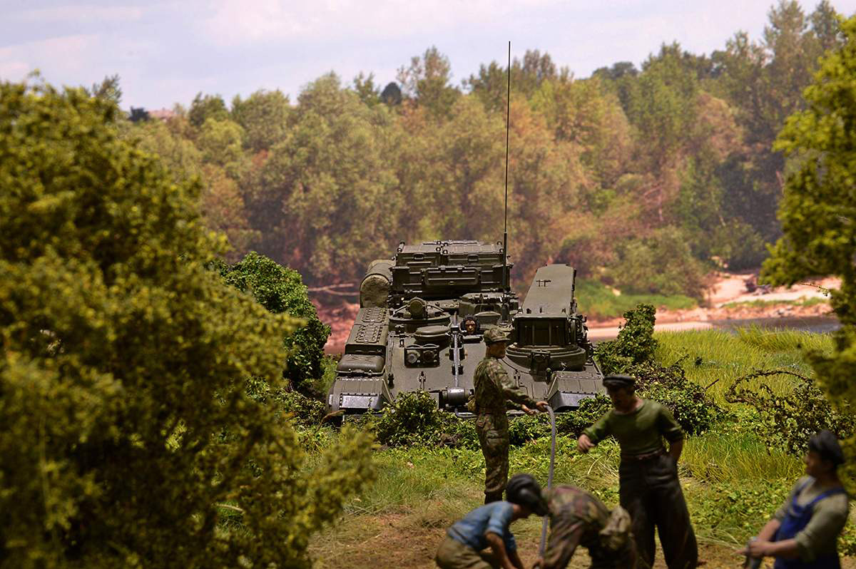 Dioramas and Vignettes: T-34/76 STZ. Rebirth of the Hero. Part II, photo #4