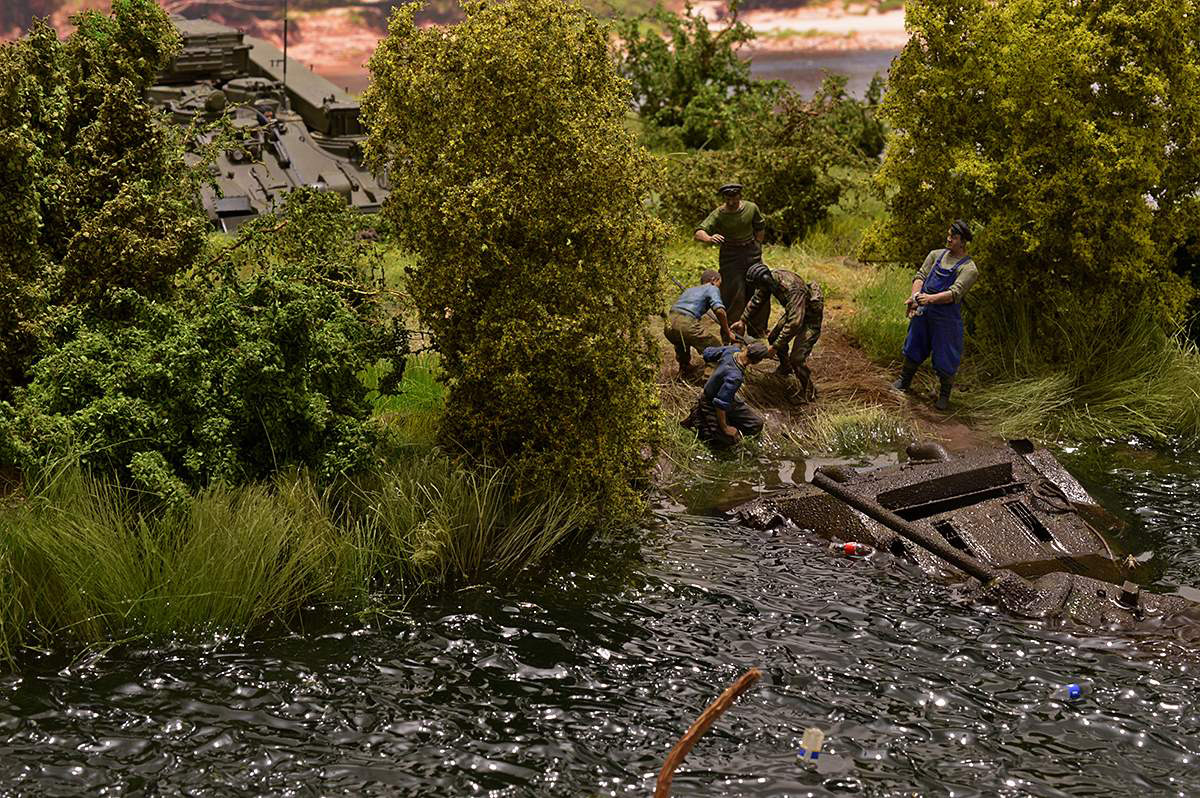 Dioramas and Vignettes: T-34/76 STZ. Rebirth of the Hero. Part II, photo #6