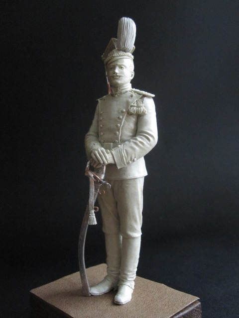 Sculpture: Guards lancer, 1900, photo #3