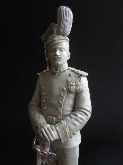 Sculpture: Guards lancer, 1900, photo #7