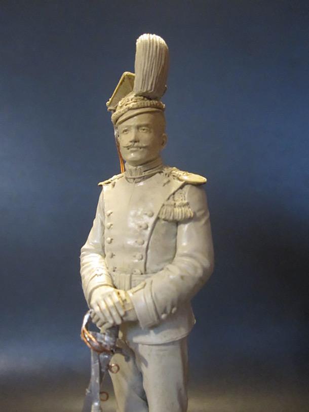 Sculpture: Guards lancer, 1900