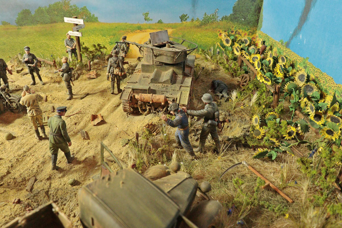 Dioramas and Vignettes: June 22, 1941, photo #2