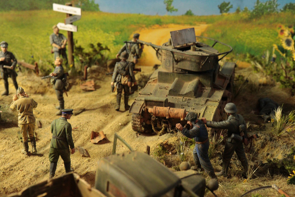 Dioramas and Vignettes: June 22, 1941, photo #3