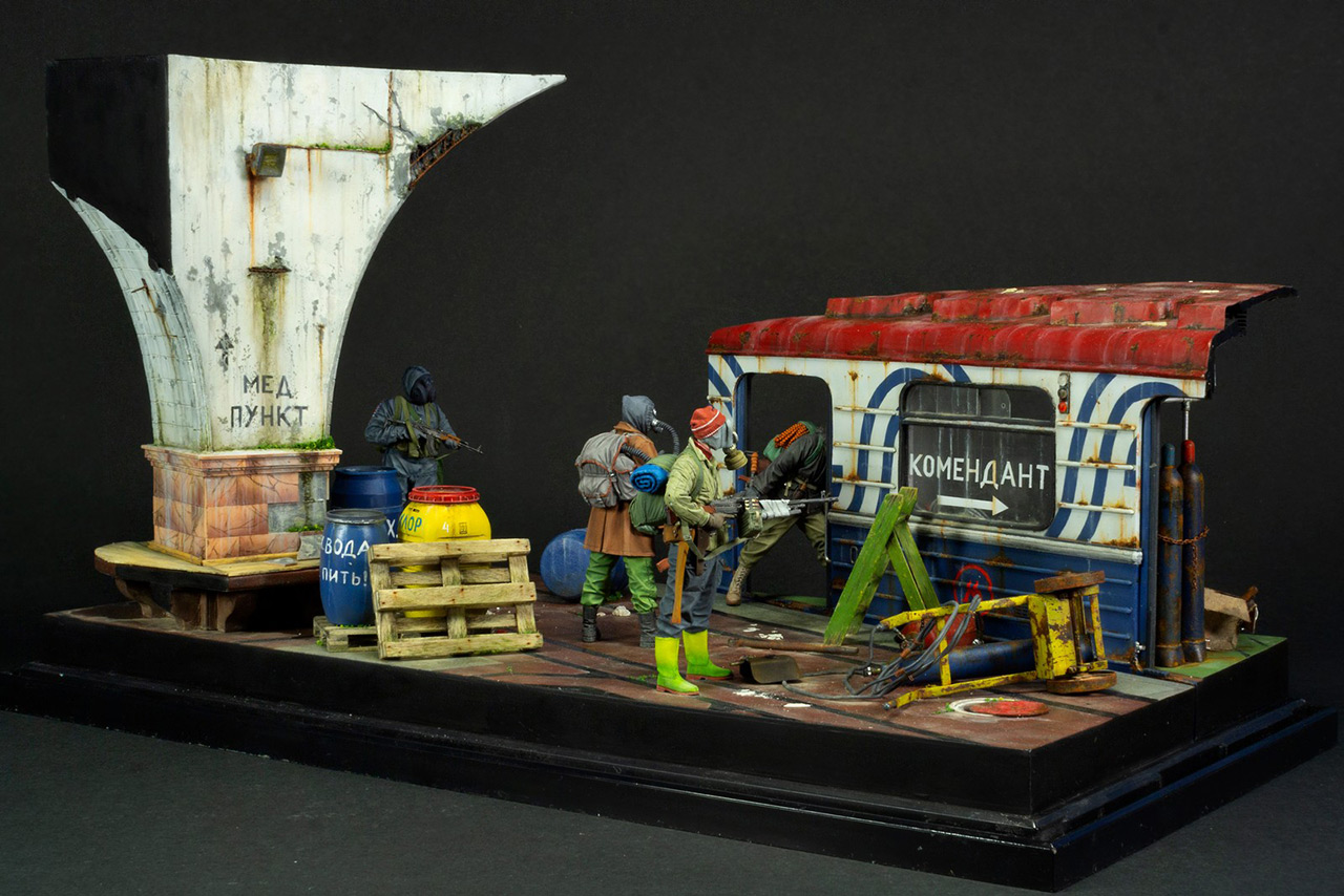 Dioramas and Vignettes: Metro, photo #10