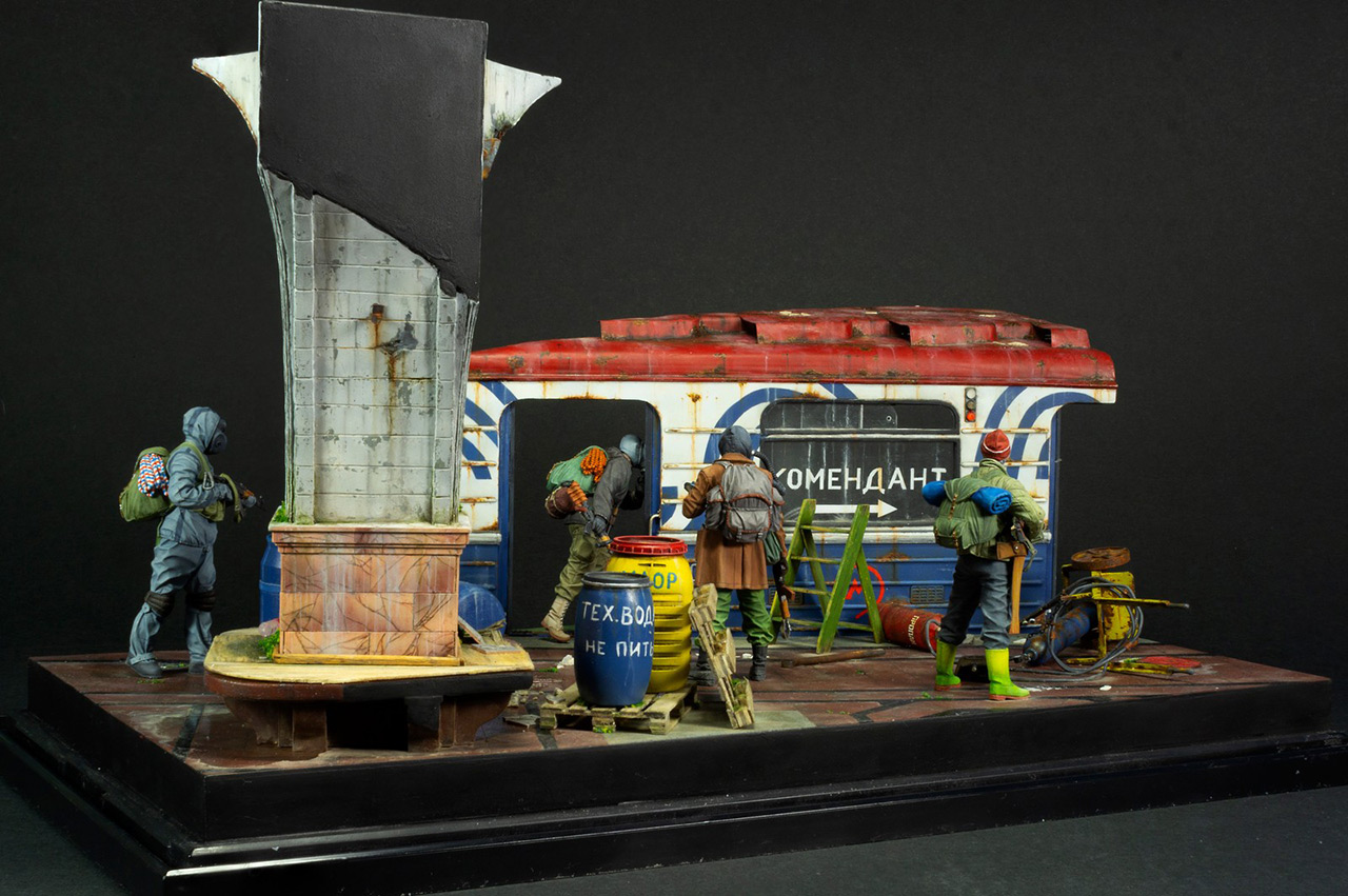 Dioramas and Vignettes: Metro, photo #11