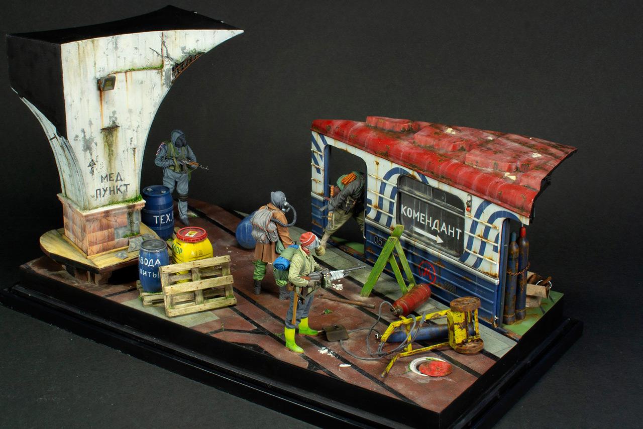 Dioramas and Vignettes: Metro, photo #2