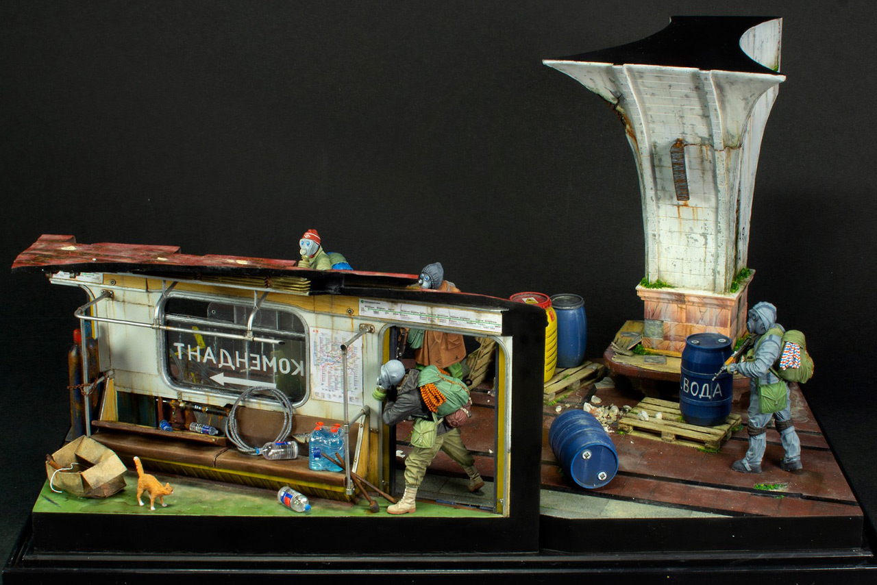 Dioramas and Vignettes: Metro, photo #6