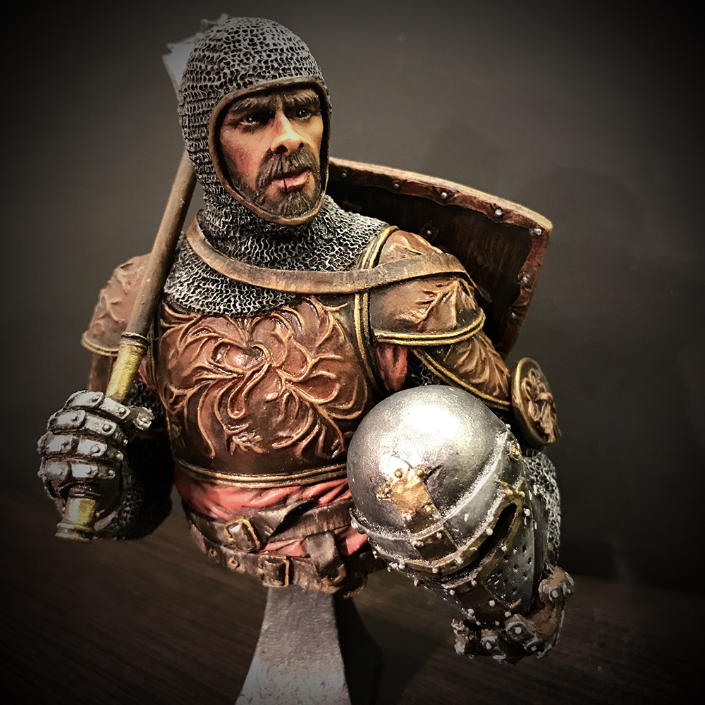Figures: English knight, photo #1