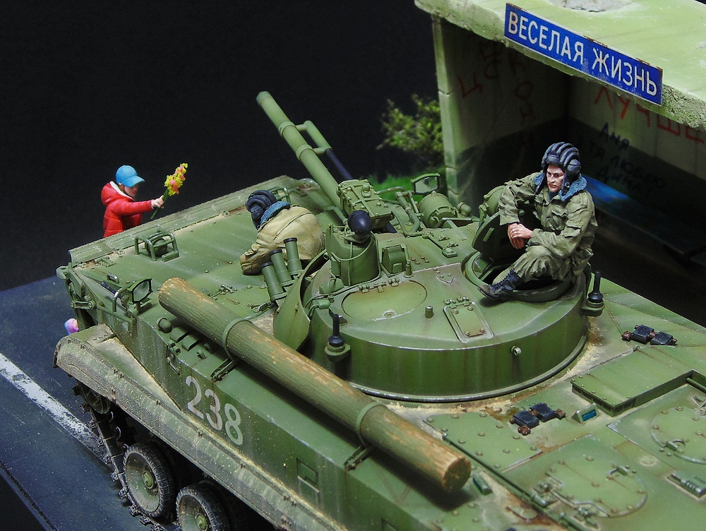 Dioramas and Vignettes: BMP-3, photo #10