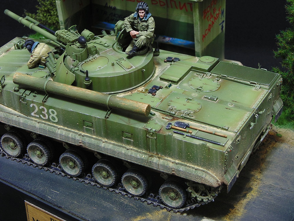 Dioramas and Vignettes: BMP-3, photo #12