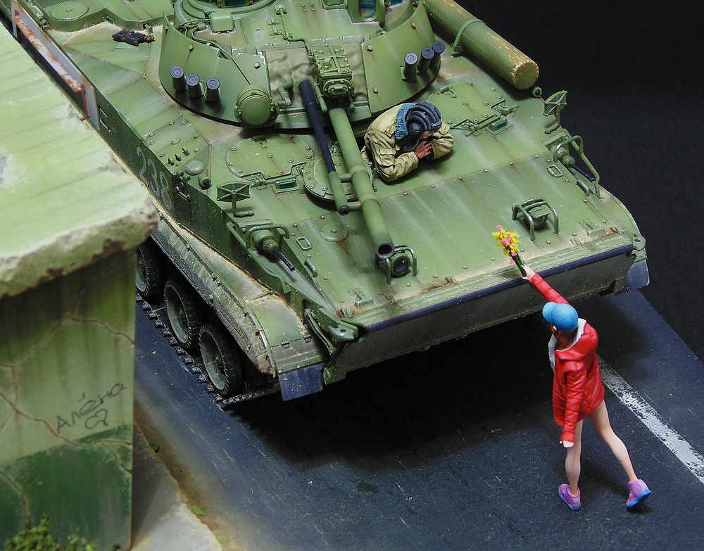 Dioramas and Vignettes: BMP-3, photo #5