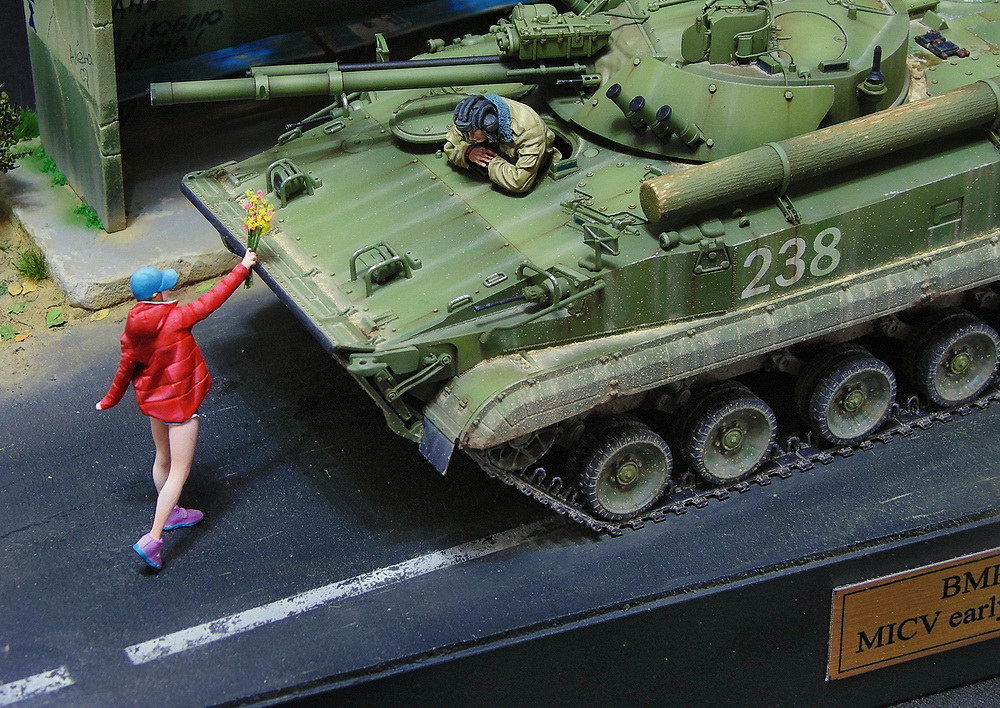 Dioramas and Vignettes: BMP-3, photo #7