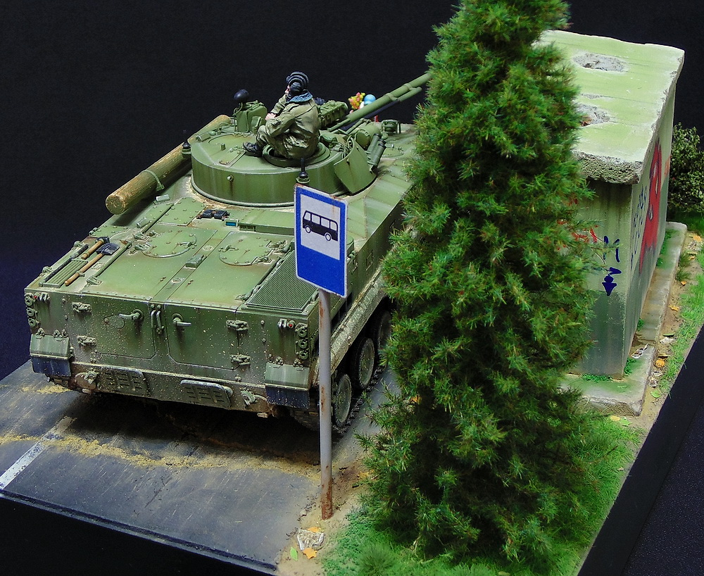 Dioramas and Vignettes: BMP-3, photo #8
