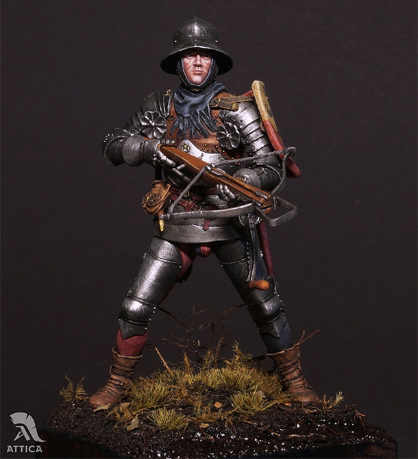 Figures: Swiss crossbowman