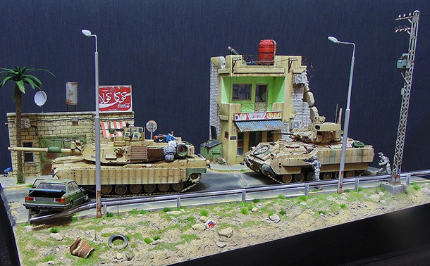 Dioramas and Vignettes: Sweet air of democracy