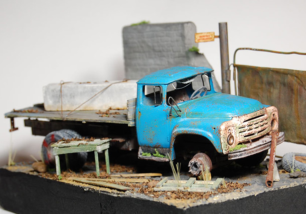 Dioramas and Vignettes: Abandoned and Forgotten