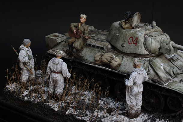 Dioramas and Vignettes: Frontline song