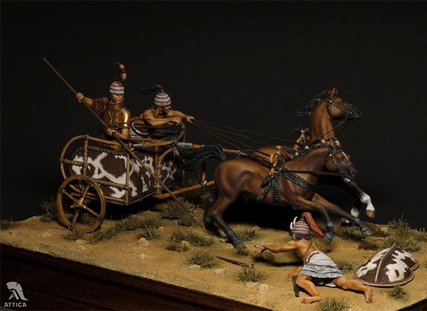 Dioramas and Vignettes: Mycenaean chariot