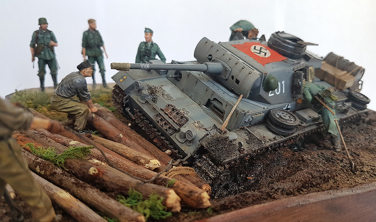 Dioramas and Vignettes: Hans, I know the shorter way!, photo #1