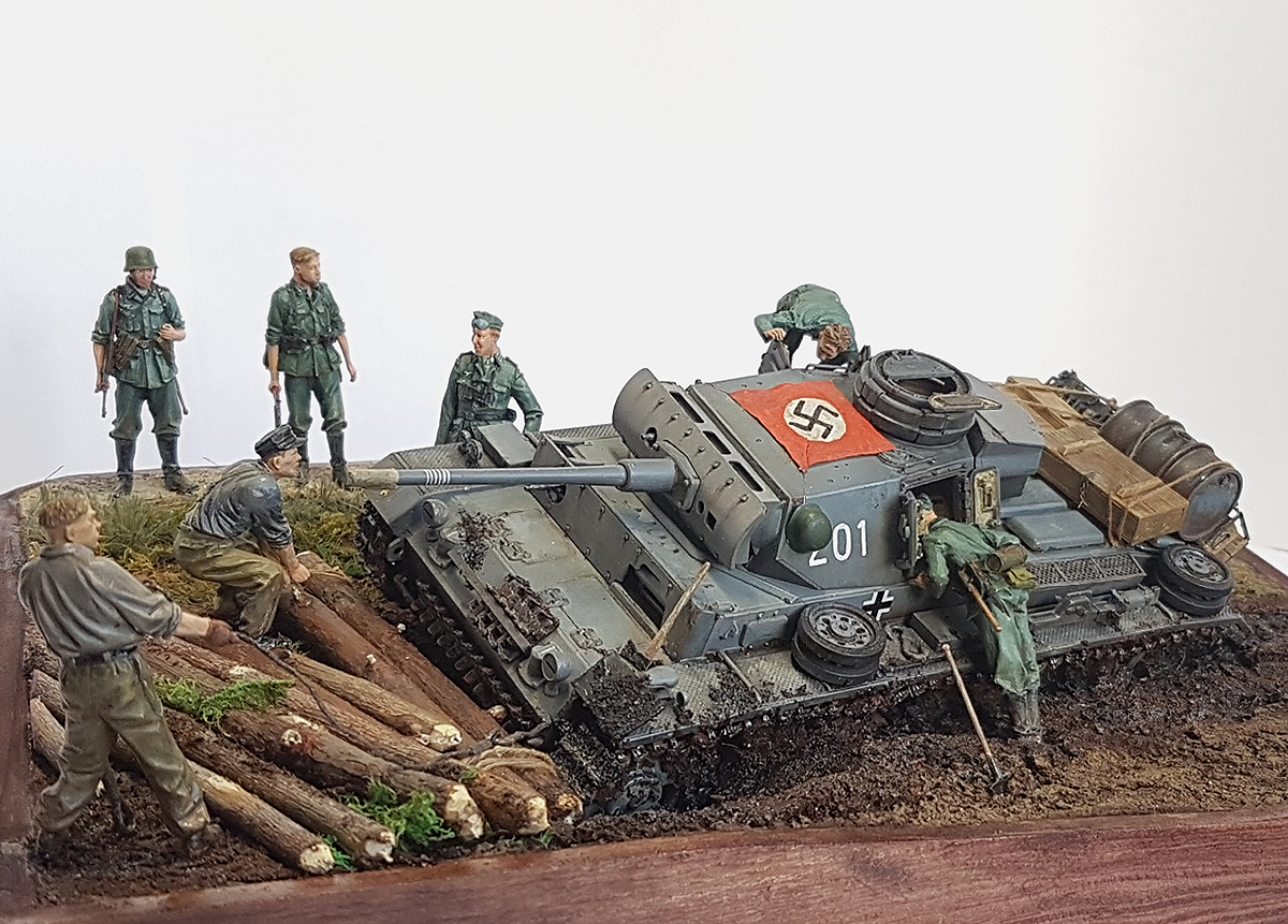 Dioramas and Vignettes: Hans, I know the shorter way!, photo #2