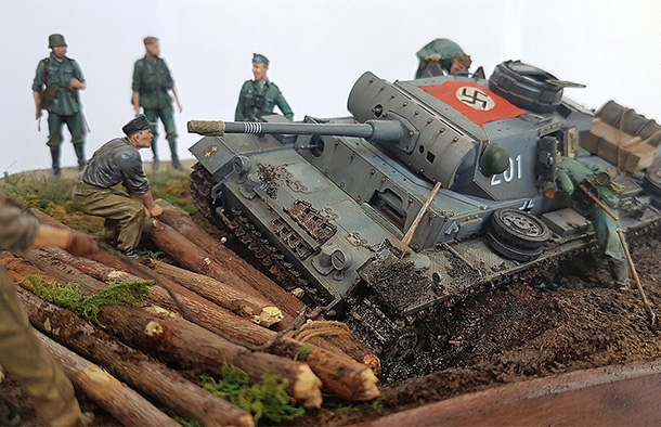 Dioramas and Vignettes: Hans, I know the shorter way!