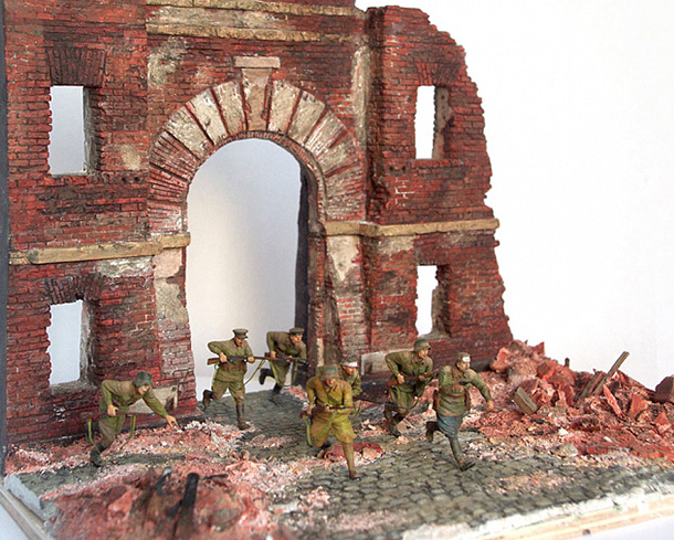 Dioramas and Vignettes: I'm the Fortress