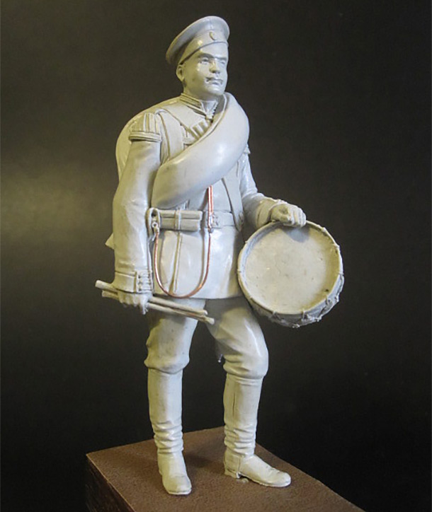 Sculpture: Drummer of Guards, 1884