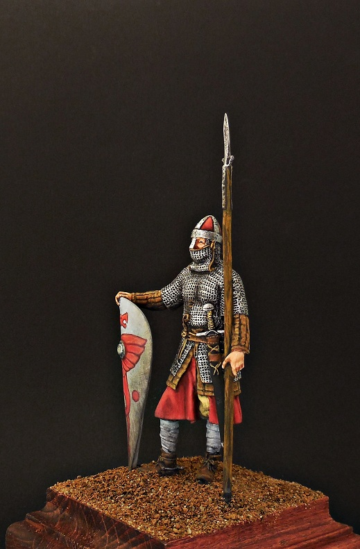 Figures: Norman knight, late 11th cent., photo #2
