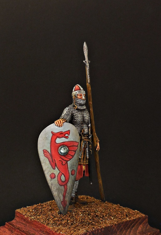Figures: Norman knight, late 11th cent., photo #6