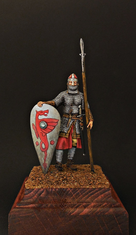 Figures: Norman knight, late 11th cent., photo #7