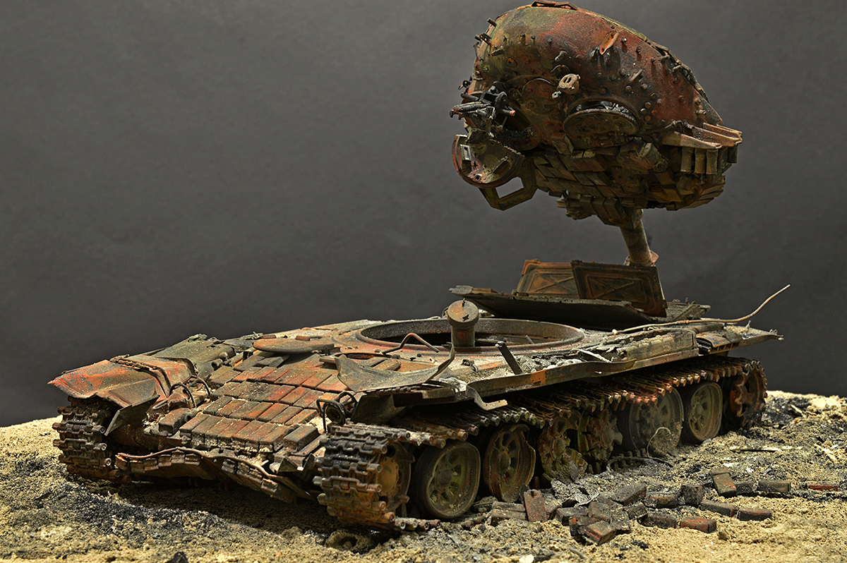 Dioramas and Vignettes: T-72B… 08.08.08., photo #10