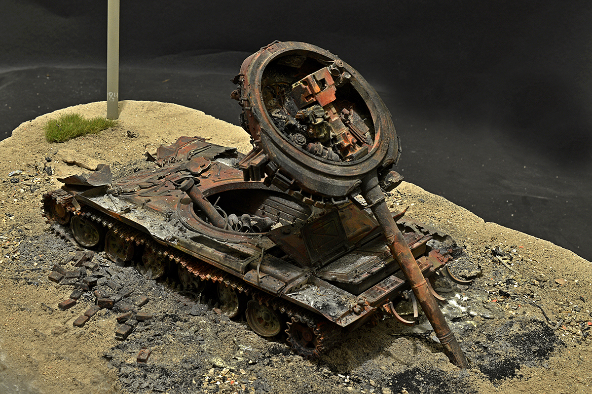 Dioramas and Vignettes: T-72B… 08.08.08., photo #11