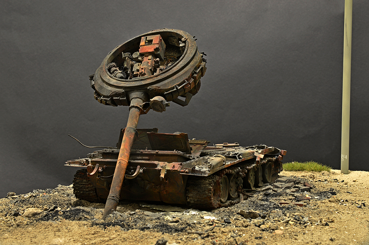 Dioramas and Vignettes: T-72B… 08.08.08., photo #9