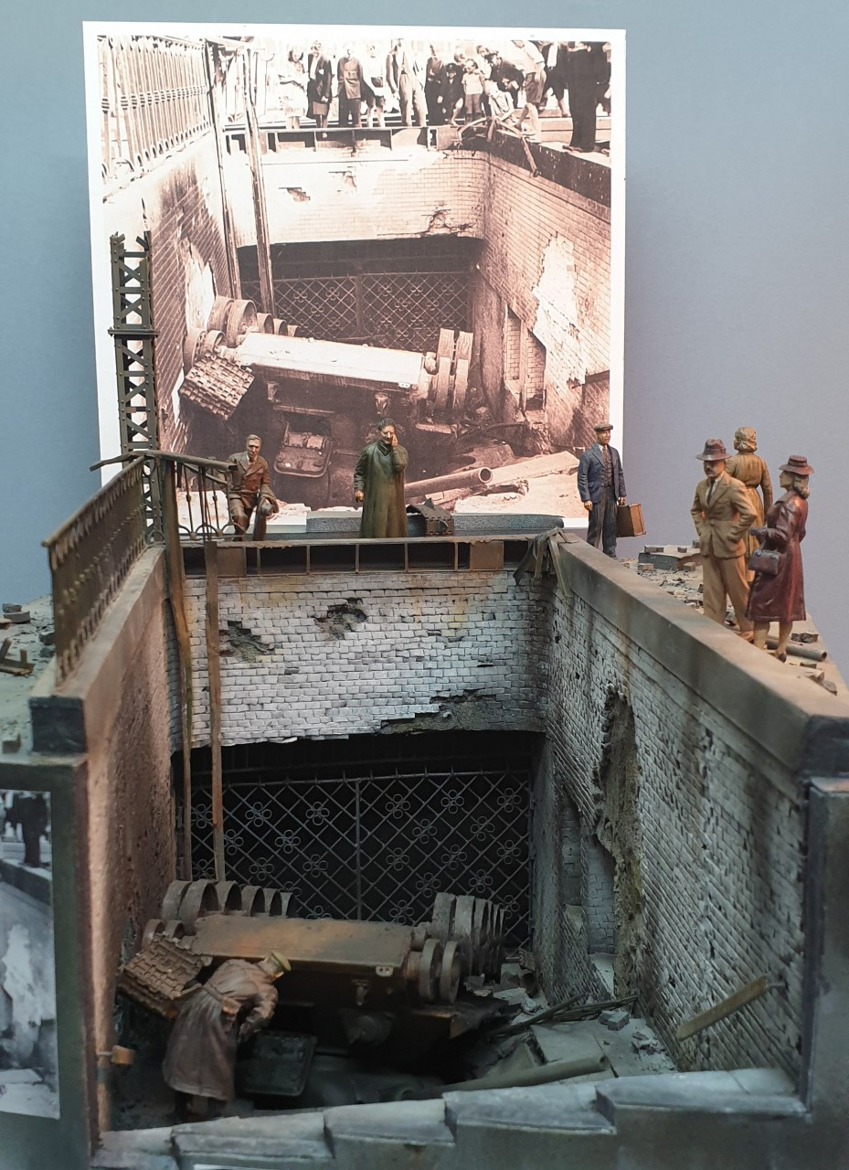 Dioramas and Vignettes: Berlin, Alexanderplatz, May 1945, photo #1