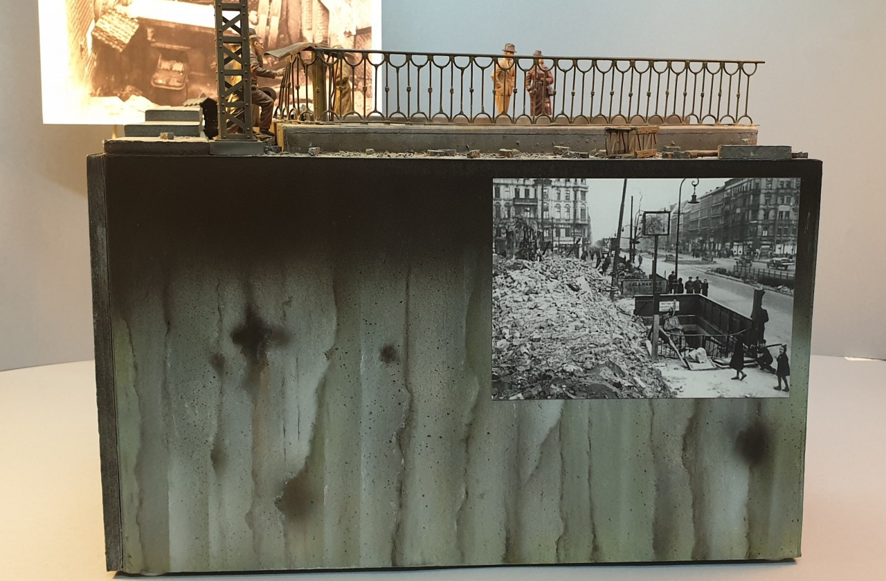 Dioramas and Vignettes: Berlin, Alexanderplatz, May 1945, photo #14