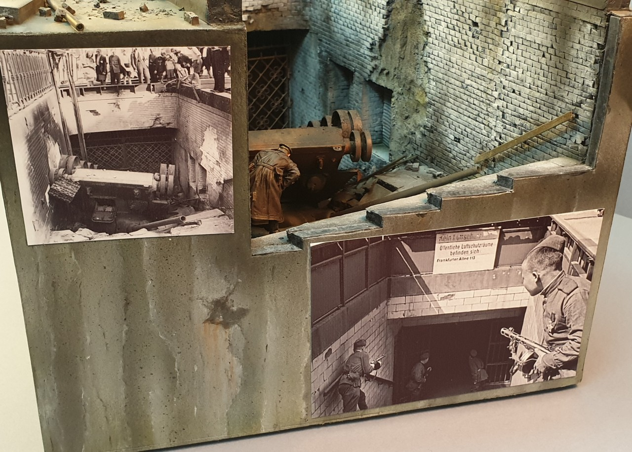 Dioramas and Vignettes: Berlin, Alexanderplatz, May 1945, photo #3