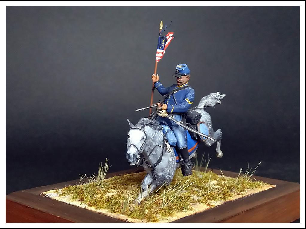 Figures: US Cavalryman, 1863, photo #1