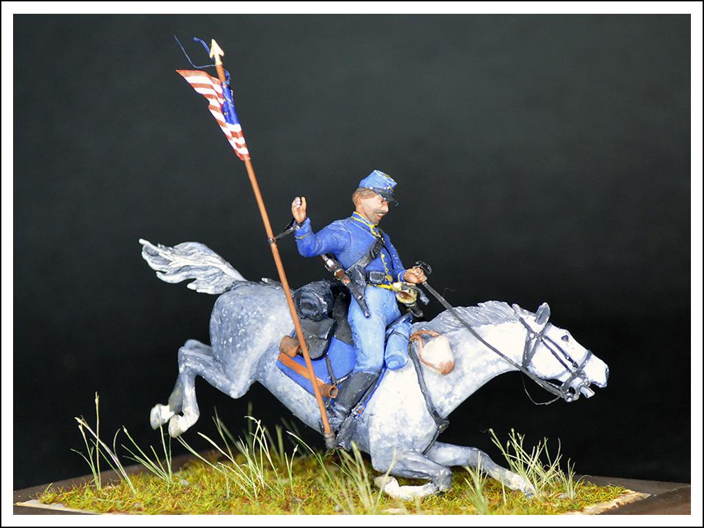 Figures: US Cavalryman, 1863, photo #4