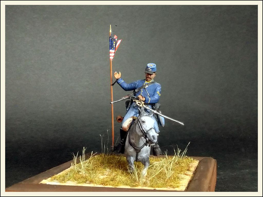 Figures: US Cavalryman, 1863, photo #6